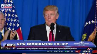 FNN: President Donald Trump NEW Immigration Policy AND Border Wall Details