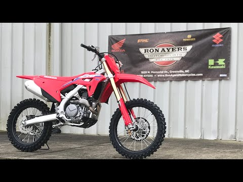 2021 Honda CRF450R in Greenville, North Carolina - Video 1