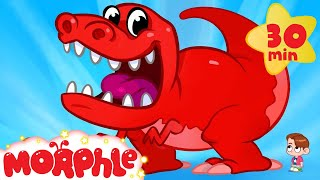 My Pet TRex Goes To School  My Magic Pet Morphle Dinosaur Video For Kids