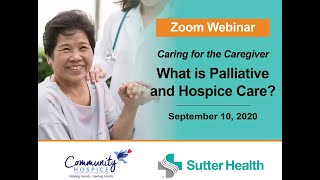 What is Palliative and Hospice Care?