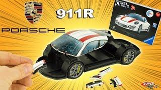 Je construis une Porsche 911R  en Puzzle 3D Ravensburger