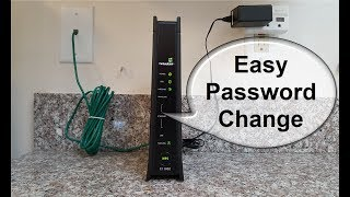 How to change Wifi password Windows 10!  - CenturyLink DSL Modem Router - It's Easy!