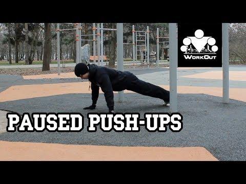 Paused Push-Ups