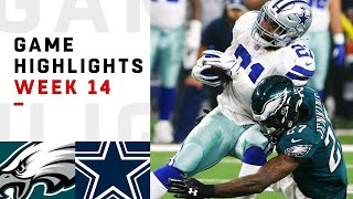 Eagles vs. Cowboys Week 14 Highlights | NFL 2018