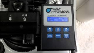 Hague Watermax Manual Regeneration