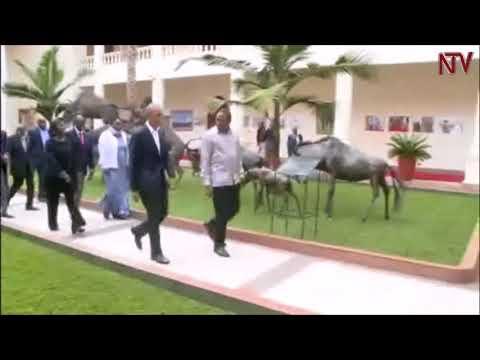 Former US president Barack Obama visits Kenya