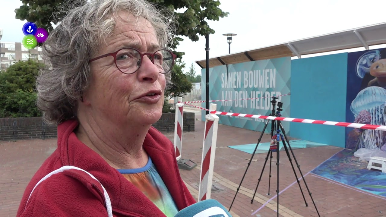 Streetart kleurt Den Helder (Video)