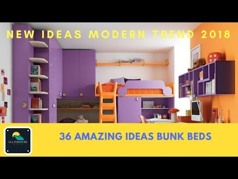 36 Amazing Ideas! BUNK BEDS Trend New 2018