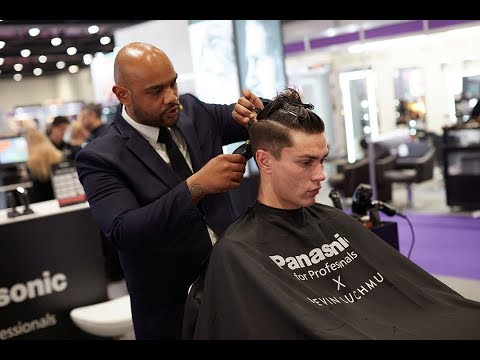 Kevin Luchmun Demonstration | Panasonic Pro Grooming at Salon International