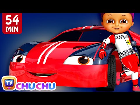 Learn Blue Color with Surprise Eggs Ball Pit Show + More Funzone Songs for Kids - ChuChu TV