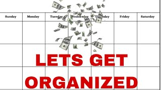 How I Organize My Whiteboard Calendar   College Friendly