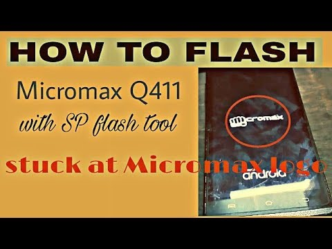 how to flash micromax q450 | hang on logo fix | Google