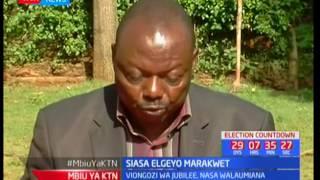 Moses Chamgwony adai tuhuma za wizi wa kura Elgeyo Marakwet