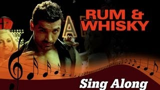 Rum & Whisky (Full Song with Lyrics) | Vicky Donor   - YouTube
