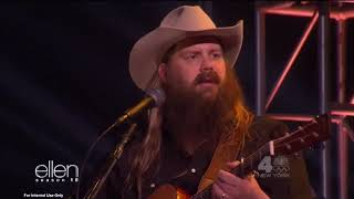 "Chris Stapleton Performs ""Millionaire"" On Ellen"
