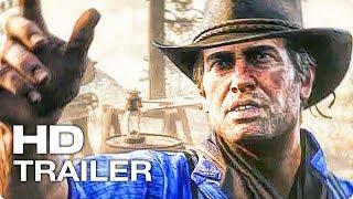 RED DEAD REDEMPTION 2 ✩ Трейлер К Выходу Игры (2018) PlayStation 4, Xbox One