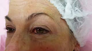 Eyeliner with small Flick (Baby liner) Permanent Makeup on Mature Skin by El Truchan @ Perfect defin