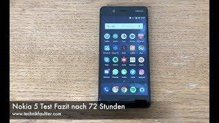 Nokia 5 Test Fazit nach 72 Stunden