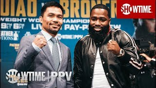 Pacquiao vs. Broner: New York Press Conference   SHOWTIME PPV