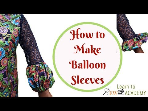 Balloon Sleeves | How to Cut & Sew | Quick Sewing Tips #7 | LTS Academy