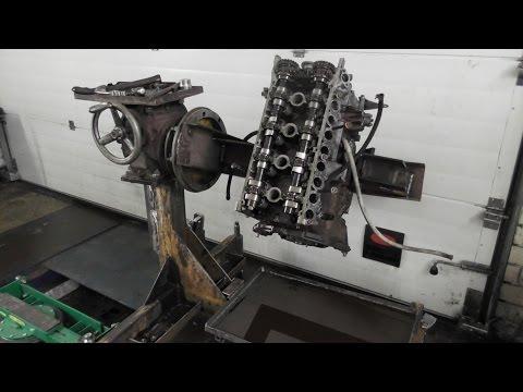 Стенд-кантователь, для ремонта двигателей своими руками. часть-2