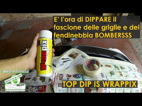 Dip Fascia Fendinebbia Alfa Romeo MiTo [How to DIP Fog Light Strip]