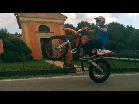 Test KTM exc 125