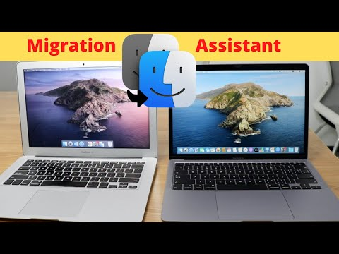 Tranfer information from a Mac to another Mac