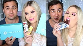 Chocolate Unboxing With My Boyfriend! ♡ Taste Test & Giveaway