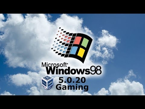 Install Windows 98 (and play old win games) with VirtualBox