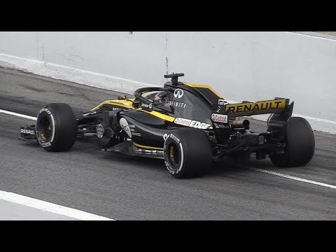 F1 2018 Cars Leaving the Pit Lane - Accelerations, Race Start Procedure, Sounds & More!