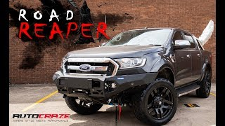 💀 ROAD REAPER 💀 // Ford Ranger Rims, Tyres, Thunder Winch, Rival Bar, Flares & More