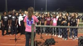 Star Spangled Banner, arr. Jamey Ray - Steele High School & Mixed Company Choir