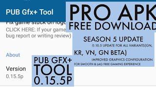 pub gfx tool with advance settings - Kênh video giải trí dành cho