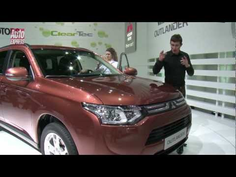 GENEVA 2012 - Mitsubishi Outlander - Auto Express