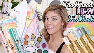 TOO FACED LIFE'S A FESTIVAL COLLECTION | DOPE OR NOPE - Video Youtube