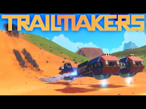 Trailmakers – Game Update New Race World! – Amazing Trailmakers Creations –  Trailmakers Gameplay