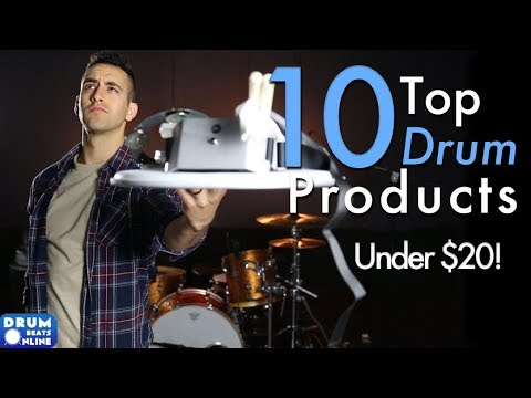 Top 10 Drum Products of 2017 – Under $20! | Drum Beats Online
