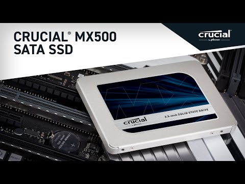 "Crucial MX500 1TB 3D NAND SATA 2.5"" 7mm (with 9.5mm adapter) Internal SSD- view 5"