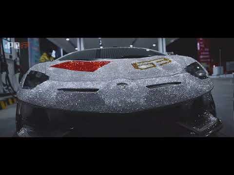 iPE exhaust for the most shining Lamborghini Aventador SVJ