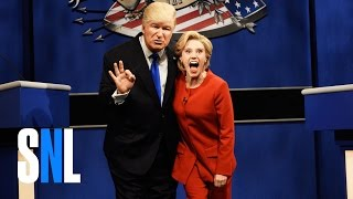 Donald Trump vs. Hillary Clinton Debate Cold Open - SNL - Video Youtube