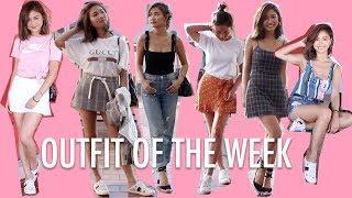 🎃7天夏日休閒配搭 Summer Outfit Of The Week  | Pumpkin Jenn🎃