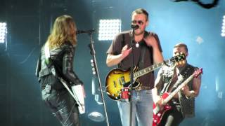 "Eric Church, Lzzy Hale ""That's Damn Rock & Roll"" CMAFest 2014"
