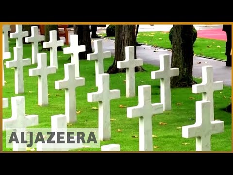 🇫🇷Macron urges world leaders to 'fight for peace' on WWI centenary | Al Jazeera English