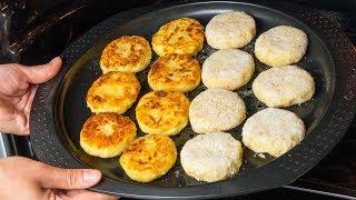 Сытный ужин за 15 минут! Картофельные котлеты - все просто и очень вкусно!   Appetitno.TV