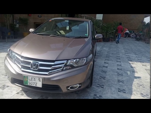 Honda City 1.3 i-VTEC Prosmatec 2016 for Sale in Gujranwala