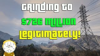 GTA Online Grinding To $726 Million Legitimately And Helping Subs