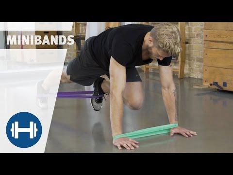 5 Übungen für das Training mit Minibands | Übungen & Workouts | Sport-Thieme