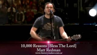 Matt Redman - 10,000 Reasons [Bless The Lord] (subtitulado español)