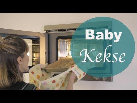 Gesunde Baby Frühstücks-Kekse ohne Zucker und Ei - Isi and Baby Food
